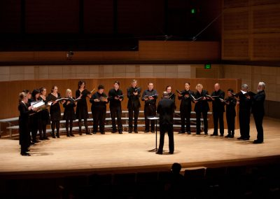 Volti performs at the Chorus America Conference, June 2011, at the SF Conservatory of Music concert hall