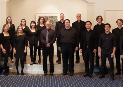 Robert Geary and the singers of Volti, 2014
