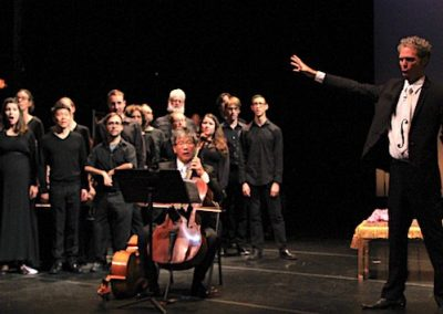 Death With Interruptions - Left Coast Chamber Ensemble with cellist, Leighton Fong and baritone, Daniel Cilli, November 2017