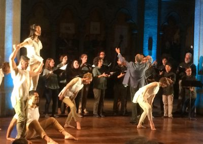 """Path of Miracles,"" Grace Cathedral, February 2018 Movement 4, Volti singers and ODC dancers"