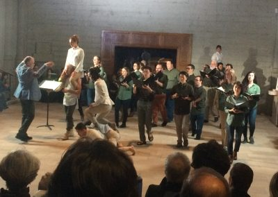 """Path of Miracles,"" Grace Cathedral, February 2018 Movement 2, Volti singers and ODC Dancers"