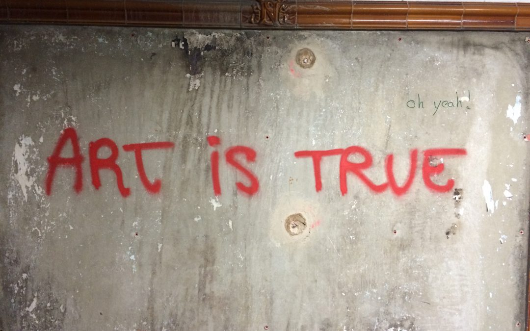 "Robert Paterson's ""Graffiti Canons"""